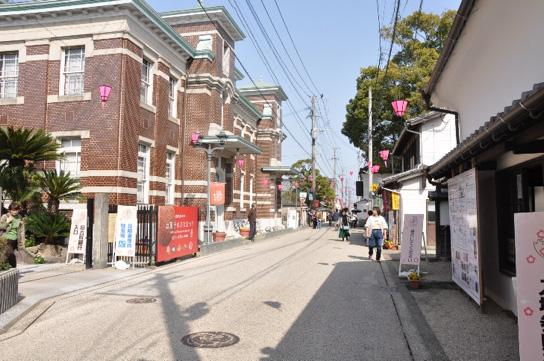 佐賀市内の街並み